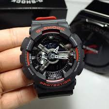 Jam Tangan G Shock Pria Original jam tangan pria casio g shock ga 110hr 1a original elevenia
