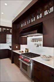 Black Kitchen Cabinets White Subway Tile Kitchen Room Awesome Dark Kitchen Cabinets With Gray Floor Dark