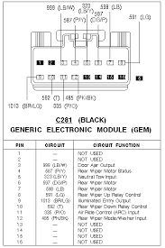 2002 mercury mountaineer radio wiring color diagram 100 images