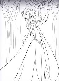 coloring elsa and anna coloringok frozen pages z colouring many