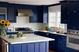cuisine bleue et blanche cuisine bleue et blanche decoration interieur