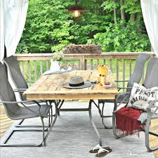 diy simple patio makeover extend the life of your diy extend