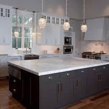 river white granite with dark cabinets white granite countertops espresso island love this look