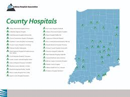 Portland County Map by County Hospitals Map