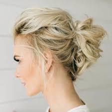 Hochsteckfrisuren Mittellange Haar Einfach by Die Besten 25 Dünnes Haar Hochsteckfrisur Ideen Auf