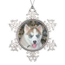 white husky ornaments keepsake ornaments zazzle