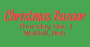 shop local at the christmas bazaar center for rural affairs