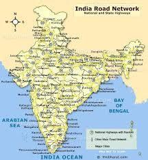 map in road india road map road connectivity in india map showing indian