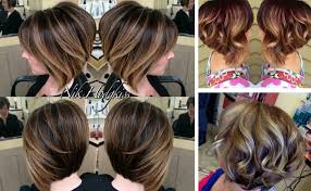 colorful short hair styles 40 hottest bob hairstyles haircuts 2018 inverted mob lob