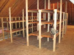 basement storage shelves attic shelving attic shelving and storage