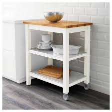 kitchen island trolley stenstorp kitchen trolley white oak 79x51x90 cm ikea