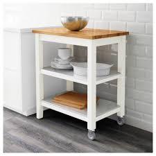 ikea stenstorp kitchen island stenstorp kitchen trolley white oak 79x51x90 cm ikea