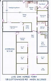 Live Oak Floor Plans Live Oak Horse Farm 399 000