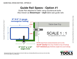 diy biesemeyer table saw fence guide rail spacing specifications for biesemeyer fence