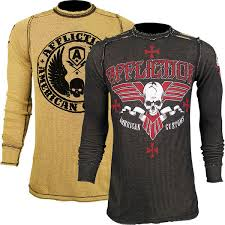 affliction american customs reversible thermal