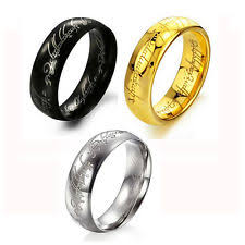 Lord Of The Rings Wedding Band by Mens Infinity Ring Ebay