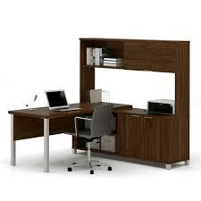 Bestar ProLinea LDesk with Hutch  Products  Pinterest  Desks