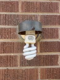changing the outside porch light twofeetfirst