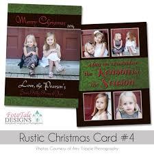 rustic christmas holiday card collection digital custom photoshop