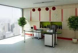 Contemporary Office Interior Design Ideas Office Decorating Ideas For Work The Home Design The Brilliant