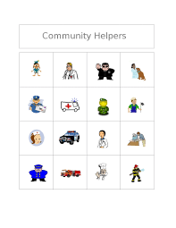 clubhouse academy free bingo game community helpers
