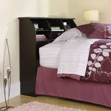 furniture home bed with headboard and footboard king bookcase
