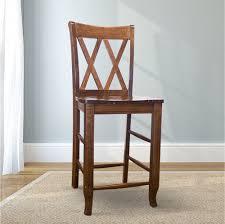 double x back stool james james furniture springdale arkansas