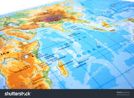 Europe Asia Map Part World Map Europe Asia Africa Stock Photo 67526485 Shutterstock