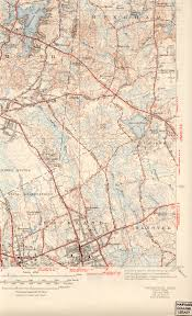 Harvard Yard Map Weymouth Ma Quadrangle