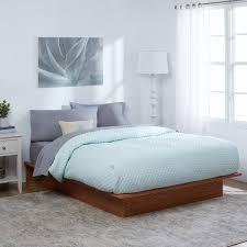 Overstock Platform Bed Oak Platform Bed Free Shipping Today Overstock 17474486