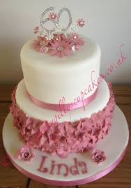 two tier pink 147 cakes cakesdecor