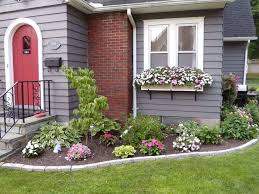 outdoor flower beds in front of house free flower bed layout