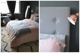 Bed Texture Bedroom Makeover Grey Copper Pink Flat 15 Design