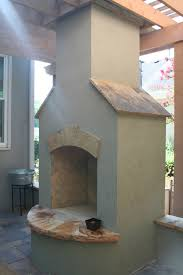 outdoor fireplace exterior pinterest stucco fireplace
