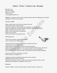 Resume Sample For Electronics Engineer by Resume Electronics Technician Resume
