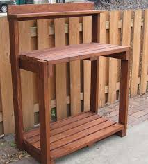 Wood Bench Plans Easy by 25 Best Potting Bench Plans Ideas On Pinterest Potting Station