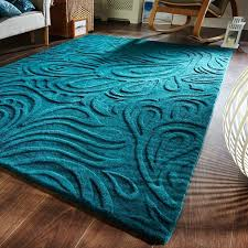 Teal Kitchen Rugs Turquoise And Brown Rug Tapinfluence Co