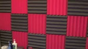 new acoustic foam soundproofing my bedroom studio