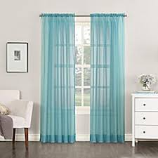 Sheer Teal Curtains Teal Sheer Curtains Bed Bath Beyond