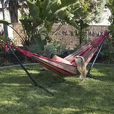 bellezza double hammock with space saving 10 ft steel hammock