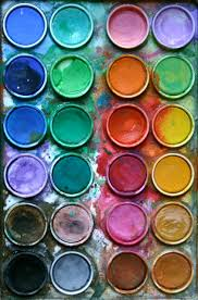 Paint Pallet by There Are Better Things Ahead Than We Leave Behind Color