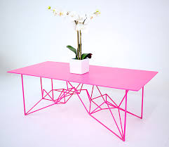 Pink Table L Pink Coffee Table Writehookstudio