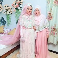 tutorial hijab syar i untuk pengantin wolipop com foto inspirasi gaun pengantin syar i dari pernikahan