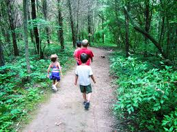 park walking trails lake
