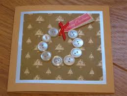 christmas card craft ne wall
