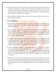 Business Debit Card Agreement Customers Complaint Pretaing To Baroda Connect U0026 Atm Debit Card