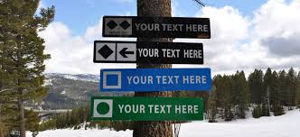 Interior Signs Trail Personalized Ski Sign Experts Only Black Diamond Ski Sign