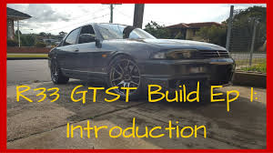 nissan r33 gtst skyline build ep 1 intro 325whp street driven