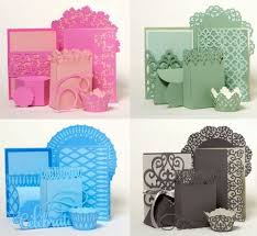 Anna Griffin Craft Room Furniture - these are some of the things you can make with the new cricut