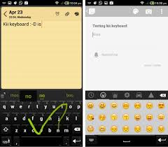 android swype keyboard kii free android keyboard with swype emoji themes keyboard layouts